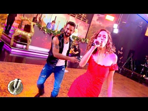 Agustín Sierra e Inbal Comedi cantaron sin documentos ante la mirada de Marta