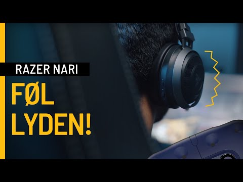Razer Nari Ultimate Gaming Headset - Føl hver eneste kamp!