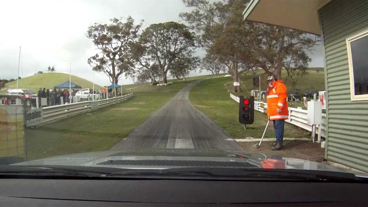 BMW E46 M3 Collingrove Hill Climb 2012