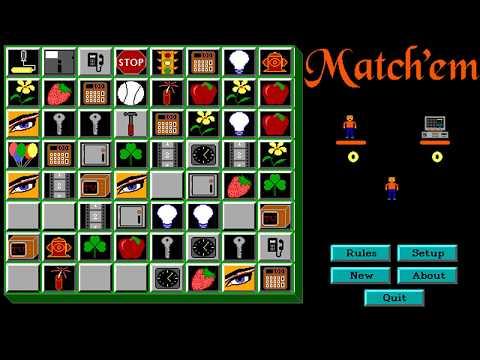 Match 'Em (Expert Source Code) (MS-DOS) [1990]