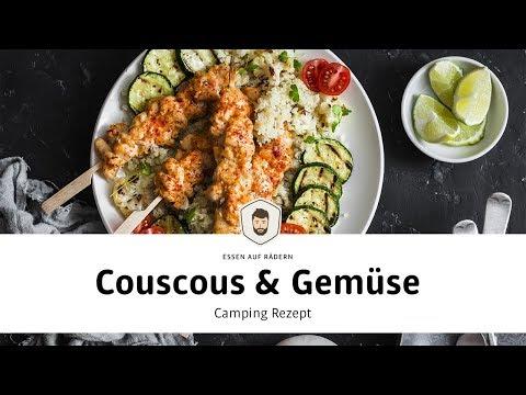 Camping Rezept 🚐👩🍳 Couscous mit Gemüse – Essen auf Rädern