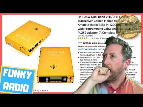 Weird Ham Radios: Manpack Backpack HYS TG-G25W