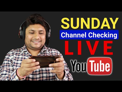 Sunday Channel Checking Live Stream | 08 August 2021