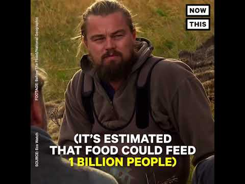 Leonardo DiCaprio takes on the meat Industry with real action.