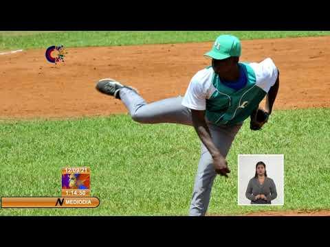 Jhonatan Carbó, Pitcher del Equipo Cuba Sub 23 de Béisbol