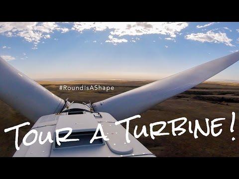 Tour A (Wind) Turbine - #RoundIsAShape (U.S. Department of Energy)