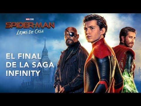 SPIDER-MAN: LEJOS DE CASA. El final de la Saga Infinity. En cines 5 de julio.