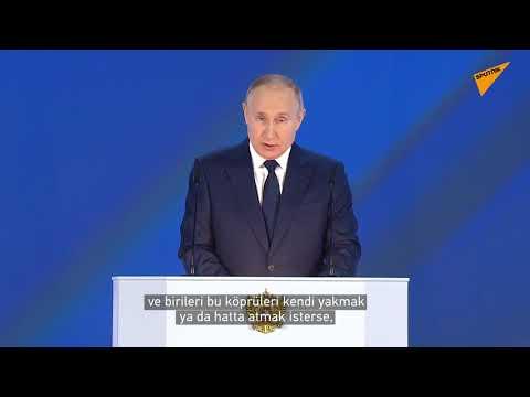 Putin: Köprüleri yakmak istemiyoruz