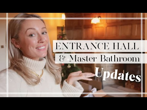 ENTRANCE HALL + MASTER BATHROOM UPDATE // Fashion Mumblr Vlogs