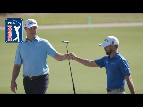 Patton Kizzire/Brian Harman highlights | Round 1 | QBE Shootout 2018