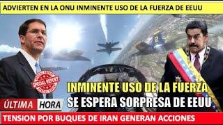 Maduro en alerta inminente uso de fuerza de EEUU