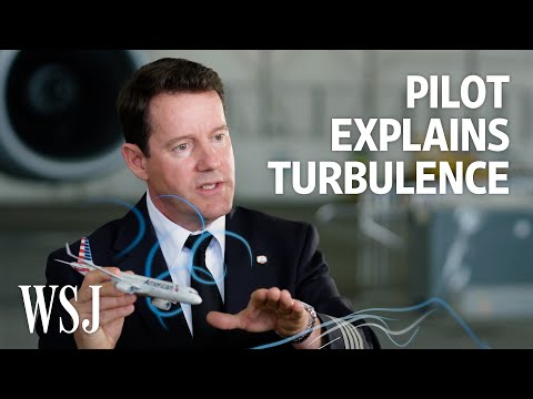 What Is Turbulence? A Pilot Explains How It Happens, Even in Clear Skies   WSJ – Wall Street Journal (YouTube)