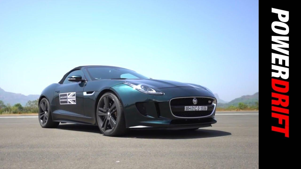 Jaguar F Type Experiential Drive : PowerDrift
