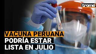 Coronavirus en Perú: Vacuna peruana se administrará por vía nasal y estaría lista en julio del 2021