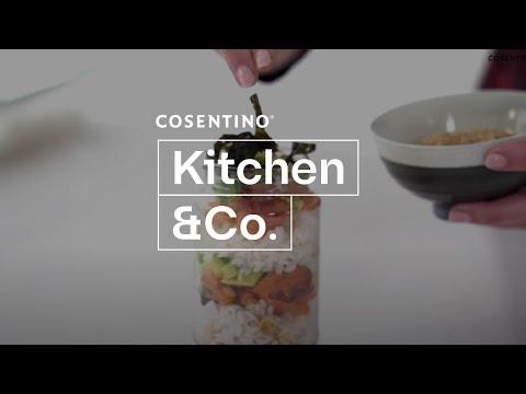 *Cosentino Top Foodie* 🍽  Cómo hacer Sushi en tarro con salmón ahumando