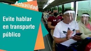Cuidado con hablar en el transporte público | Actualidad