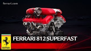 Ferrari 812 Superfast – Powertrain