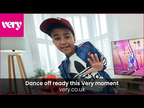 very.co.uk & Very Voucher Code video: Dance ready this Very moment