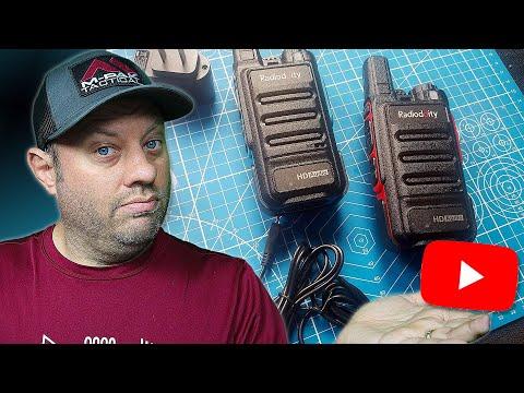 Radioddity FS-N1 Noise-Canceling FRS/PMR446 Radio with HD Audio