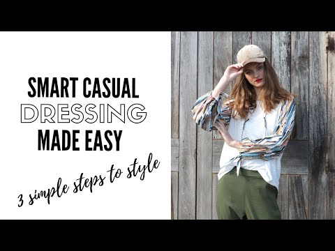 Video: The Secret To Mastering Smart Casual Outfits | fashion trends 2019