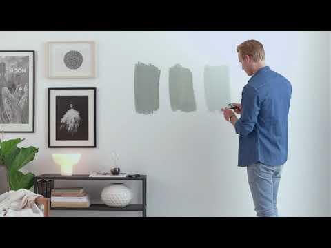 ColourTester - Den enkle måde at prøve vægfarver. Køb den på www.colourtester.dk