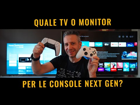 Quale TV o MONITOR per PS5 o XBOX series …