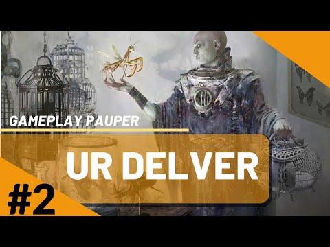 BATALHA DE DELVER!!!! UR DELVER VS UB DELVER [GAMEPLAY PAUPER 2020]