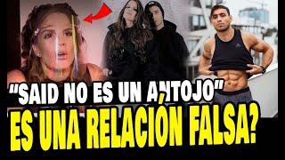 ALEJANDRA BAIGORRIA Y SAID PALAO RESPONDEN A LAS BURLAS QUE RECIBEN POR SU AMOR