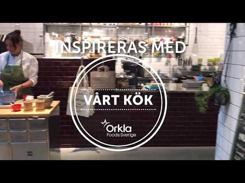 Inspireras med Vårt Kök Knäckig äpplekaka med Ekströms vaniljsås