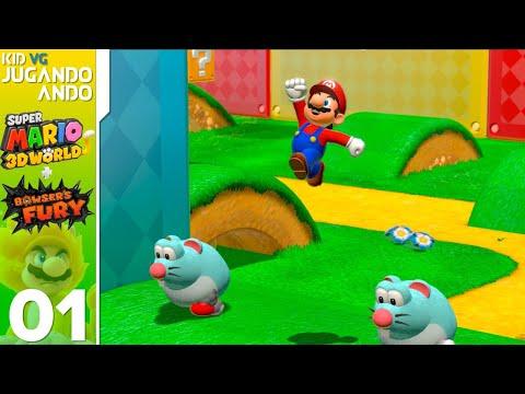 JugandoAndo: Mario 3D World Bowser s Fury con la Pequeño Pony