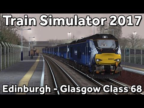 Train Simulator 2017: Edinburgh to Glasgow with ScotRail Class 68