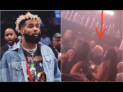 connectYoutube - Odell Beckham Gets Knocked Out At Random Club