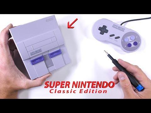 Super NES Classic Edition! - Teardown - Unboxing - Repair Video