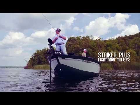 Garmin STRIKER™ Plus - GPS-Fishfinder mit Quickdraw Contours-Kartensoftware