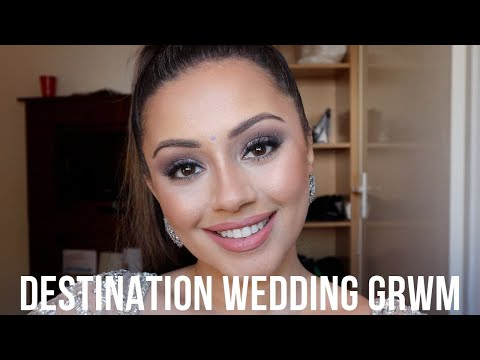 DESTINATION WEDDING GET READY WITH ME | SOUTH OF FRANCE