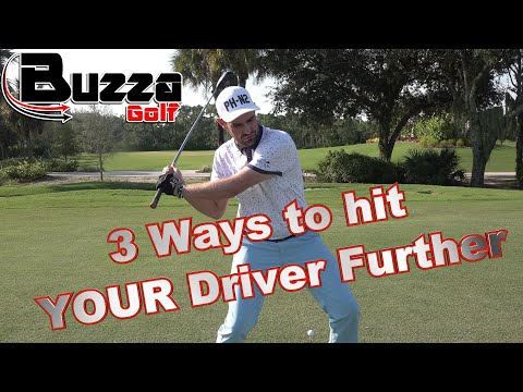 3 Ways to hit YOUR Driver Further (learn from Long Drive Hitters)