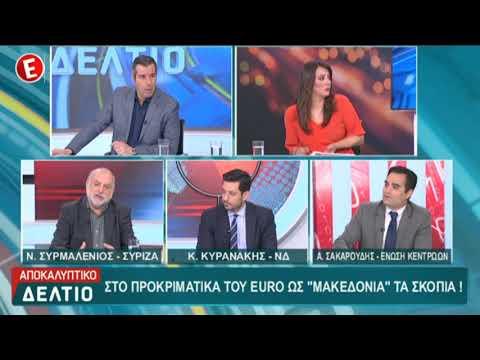Α. Σακαρούδης /«Αποκαλυπτικό Δελτίο»,Neo Tv/ 22-3-2019