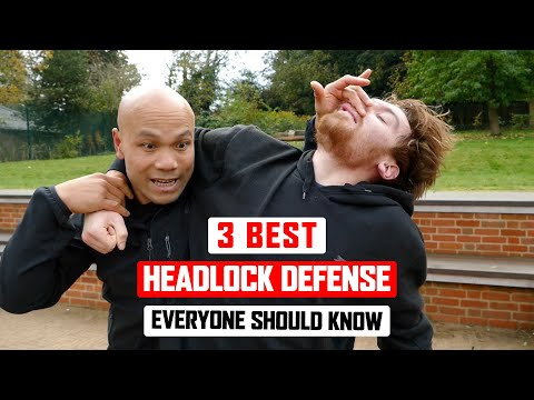 3 Best headlock defense everyone should know ✅   lesson 1 | Wing Chun