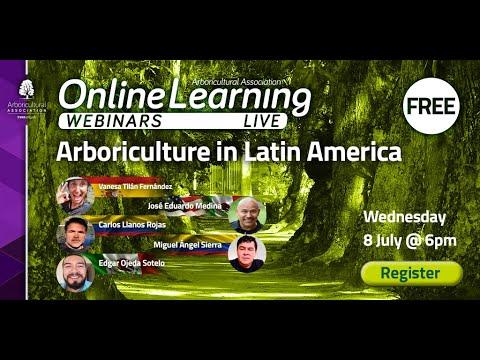 Webinar: Arboriculture in Latin America