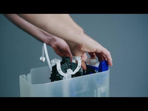 Så byter du flottörventil på en Ifö Spira-toalett