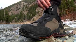 Simms Wading Boots: BOA Simms Rivertek