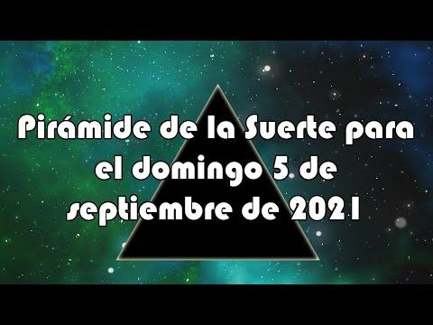Lotería de Panamá - Pirámide para el domingo 5 de septiembre de 2021