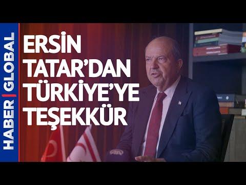 KKTC Cumhurbaşkanı Ersin Tatar'dan Türkiye'ye Teşekkür! Bugün Türkiye'ye Geliyor