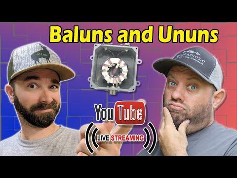 Antenna Baluns and Ununs with K6ARK   Ham Radio Livestream