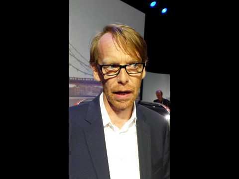 Världspremiär -- BMW i3 -- Intervju med Benoit Jacob Chef för BMW i Design