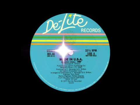 connectYoutube - Made in U.S.A - Melodies (De-Lite Records 1977)