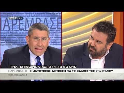 Στράτος Σεϊτανίδης στο BlueSky (21-6-2019)