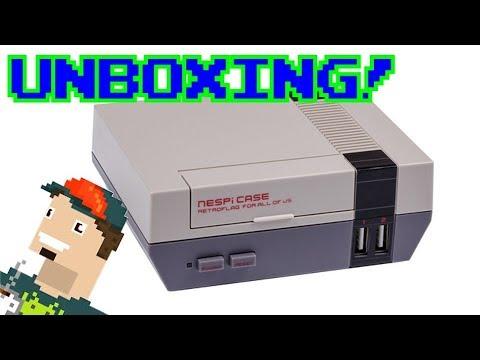 NESPI CASE UNBOXING! || Carcasa retro para Raspberry Pi