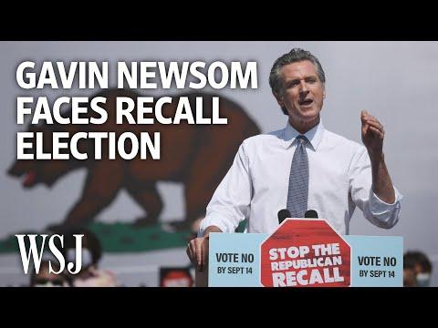 Why Gov. Gavin Newsom Is Facing a Recall Election   WSJ – Wall Street Journal (YouTube)