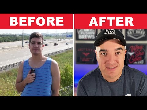 EPIC TRANSFORMATION From Failed YouTuber To Full-Time Entrepreneur (5 Year Journey!)